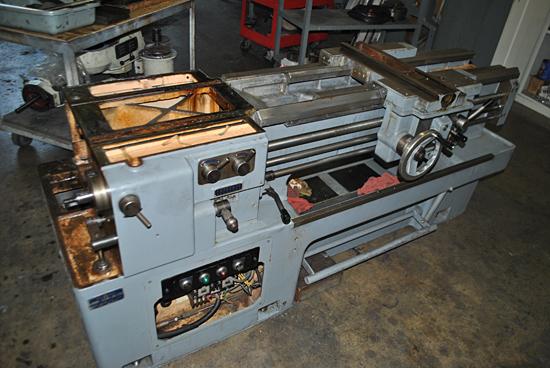 Rebuild and Repair of a Mori Seiki Model# MS-850 Lathe