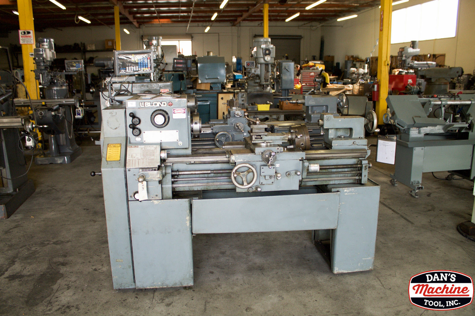 Used Manufacturing Equipment For Sale Anaheim California Leblond Lathe Wiring Schematic